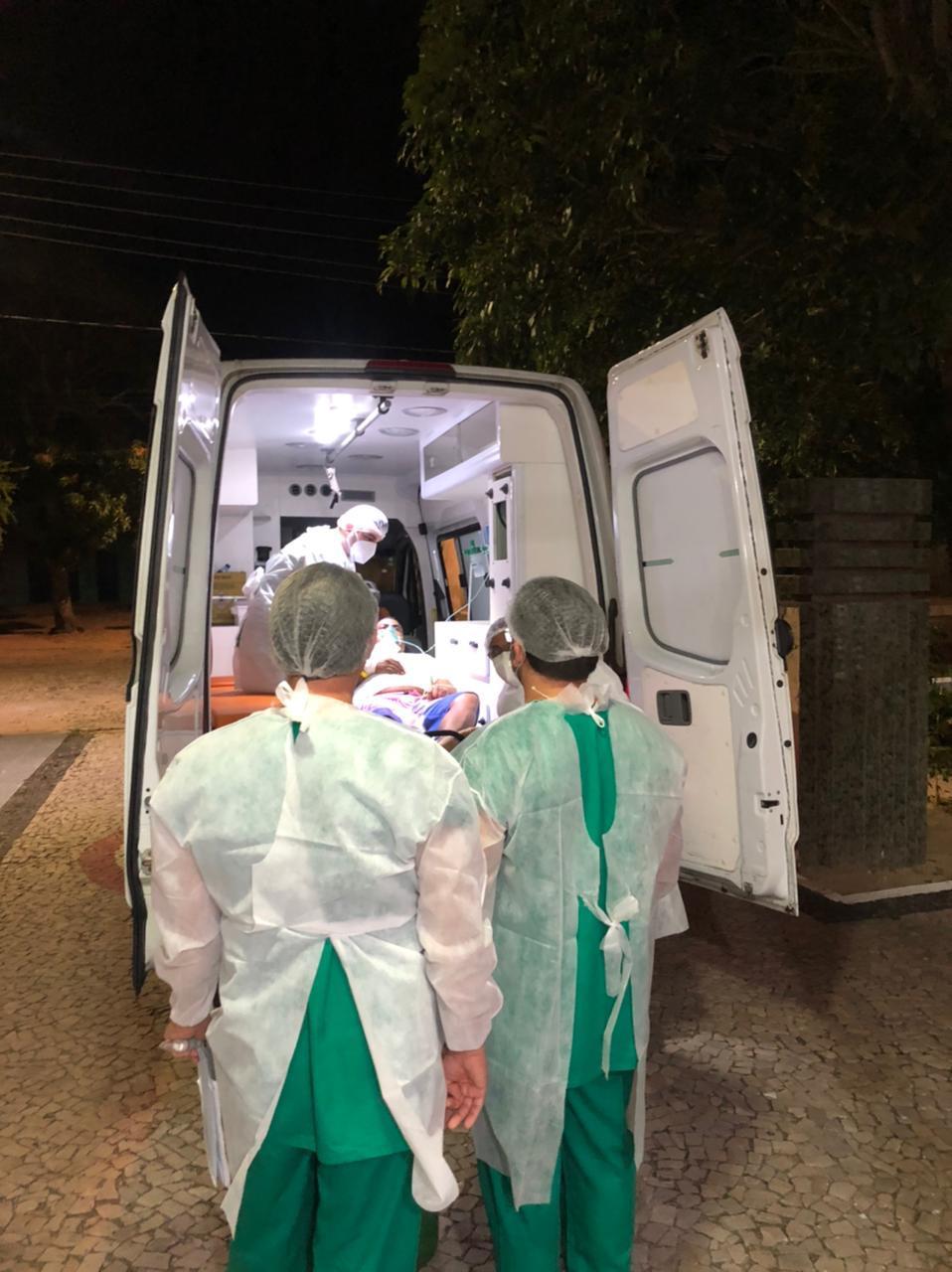 Hospital com 30 leitos foi reaberto em Parnaíba para transferência de pacientes - Foto: Divulgação