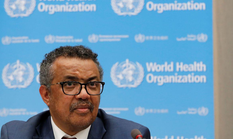 Tedros Adhanom está preocupado com novos casos e defendeu medidas para conter avanço do novo coronavírus.-Foto: Reuters