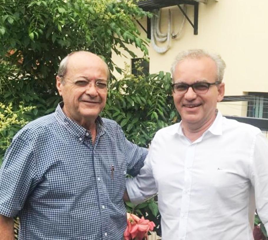 Silvio Mendes lamenta a morte de Firmino Filho em carta - Foto: Reprodução