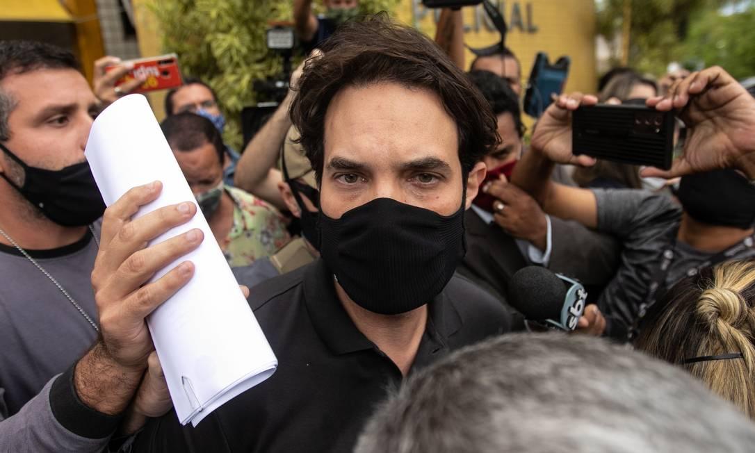 Dr. jairinho foi preso na semana passada junto com a mãe de Henry (Brenno Carvalho/Agência O Globo)
