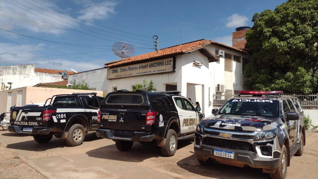 Caso ocorreu dentro da Clínica e Maternidade Anizinha Luz - Foto: Reprodução