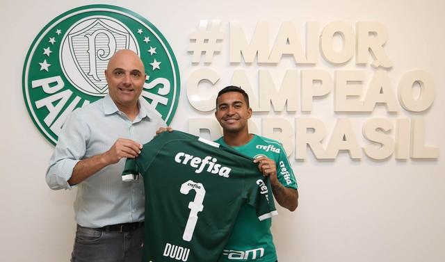 Dudu ainda pode voltar ao Palmeiras- Foto: Cesar Greco
