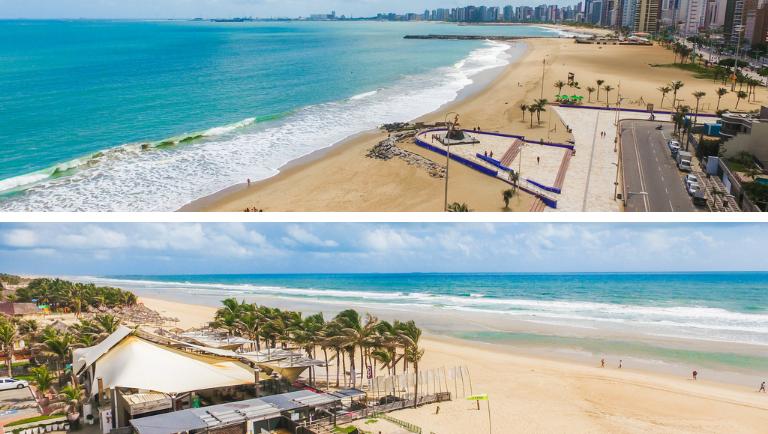Praias de Iracema e do Futuro, em Fortaleza (Jade Queiroz/MTur)
