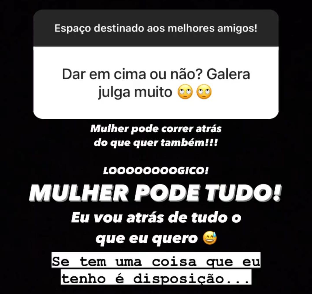 (Reprodução Instagram Nayra Garcez)(Reprodução Instagram Nayra Garcez)