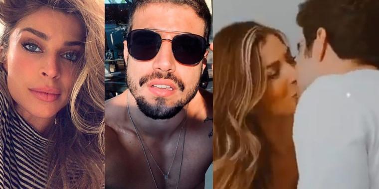 Love- Caio Castro e Grazi são fotografados juntos antes de viagem