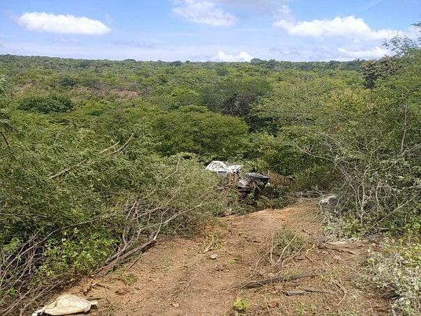 Caminhão capotou após colisão na BR-230 - Foto: Divulgação