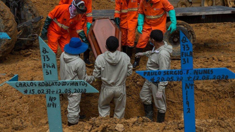 Brasil registra mais de 70% das mortes por Covid-19 da América do Sul (Foto: Alex Pazuello/Semcom )