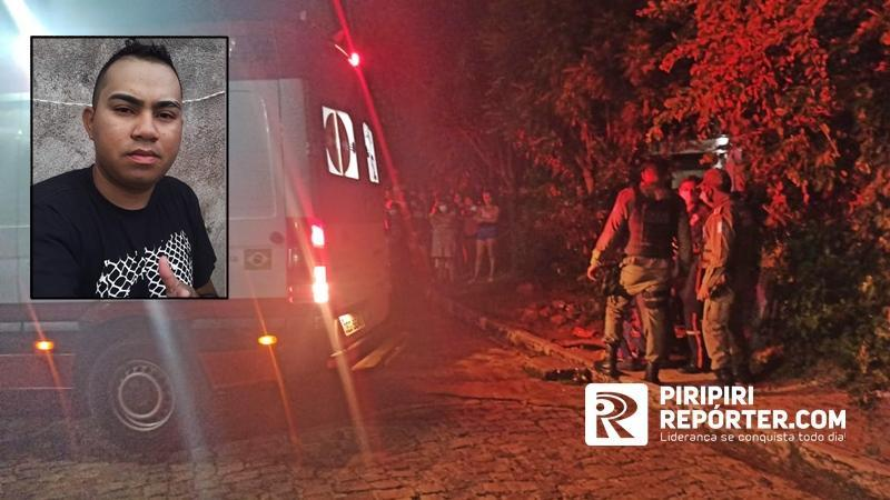 Jovem foi morto após sair de casa em Piripiri