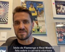 Ídolo do Flamengo e Real Madrid fala sobre a carreira vitoriosa