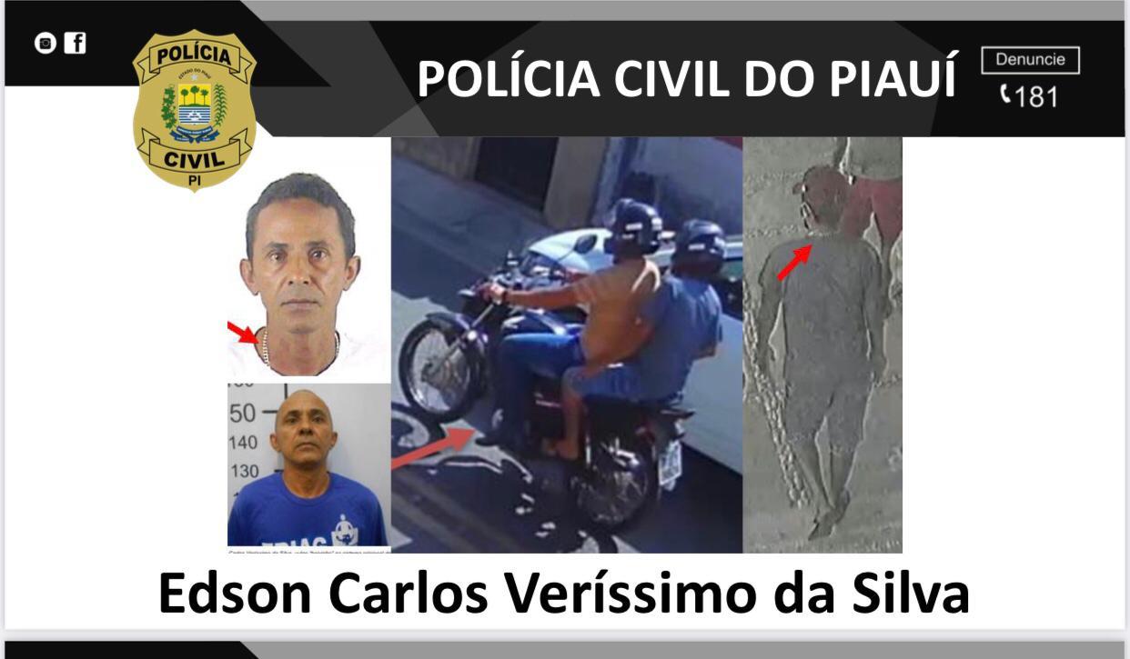 Edson Carlos é apontado na investigação como o pistoleiro que realizou os disparos que mataram Janes - Foto: Polícia Civil