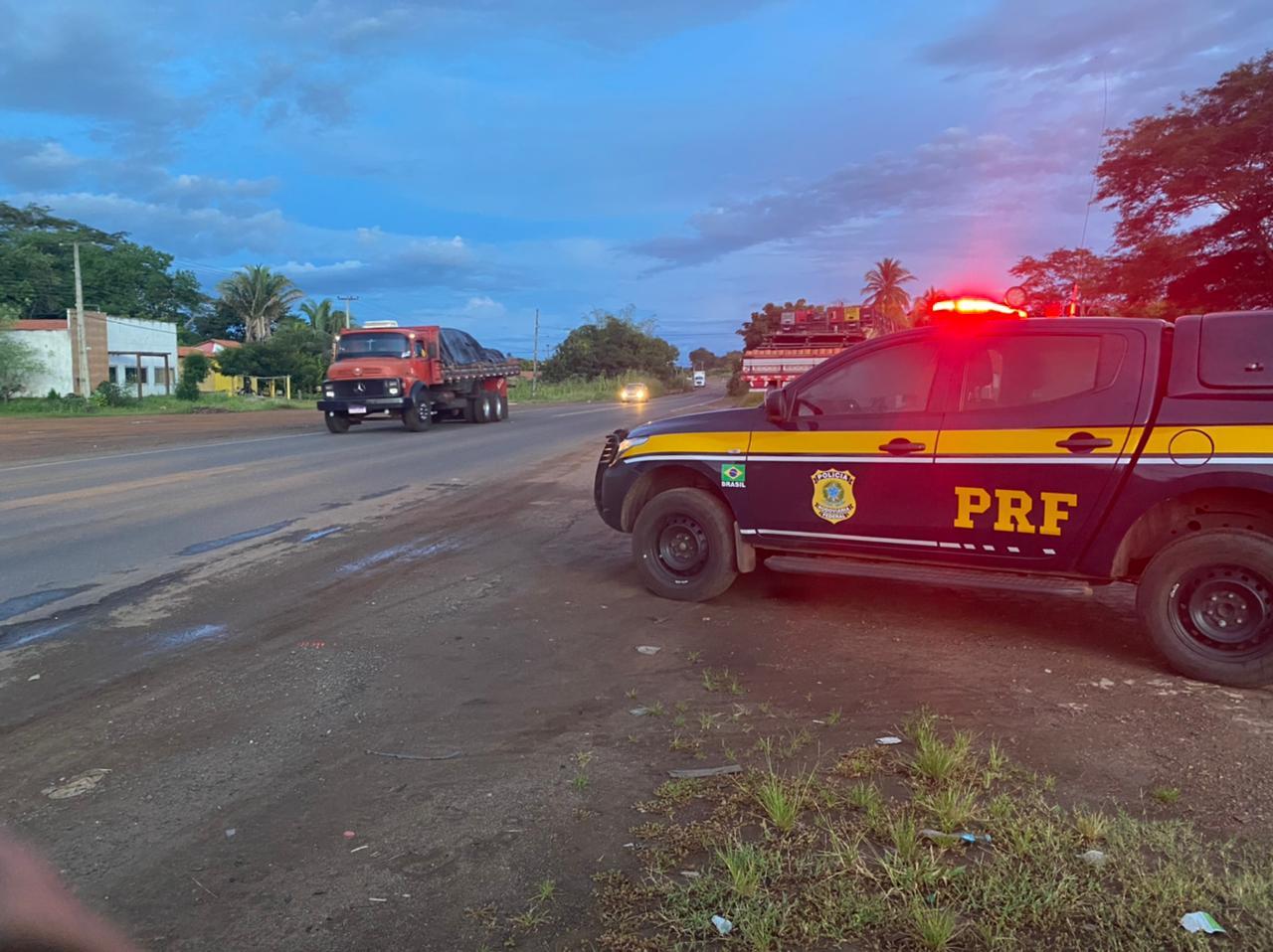 Rodovia no Piauí (Foto: Reprodução/ PRF-PI)