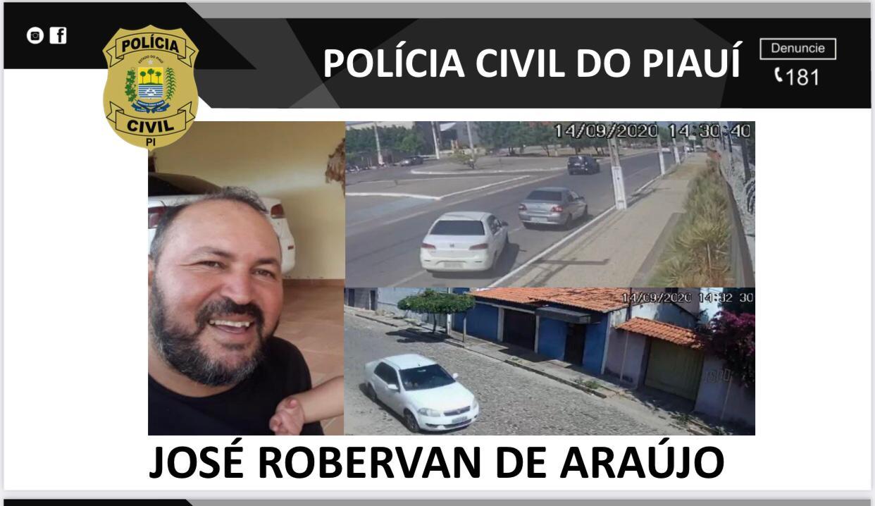 José Robervan é o chefe dos homicídios, ele é contratado para pegar uma equipe para matar - Foto: Divulgação/Polícia Civil