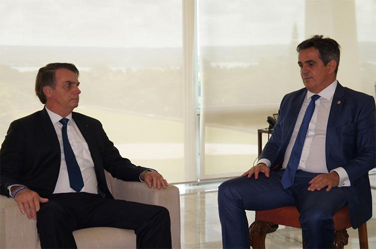 Presidente Jair Bolsonaro e senador Ciro Nogueira - Foto: Ascom