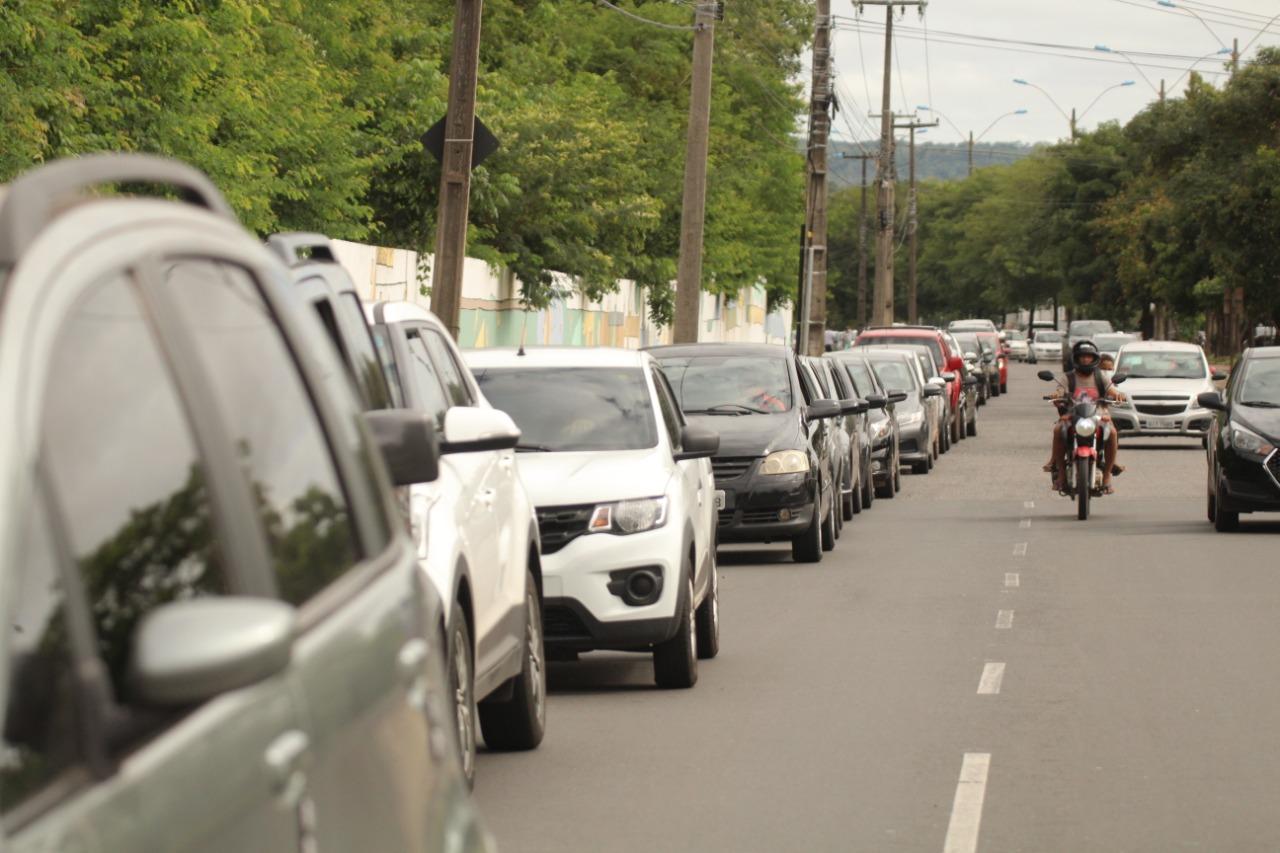 Ponto de Drive Thru em Teresina (Foto: Raíssa Morais/ Portal Meio Norte)