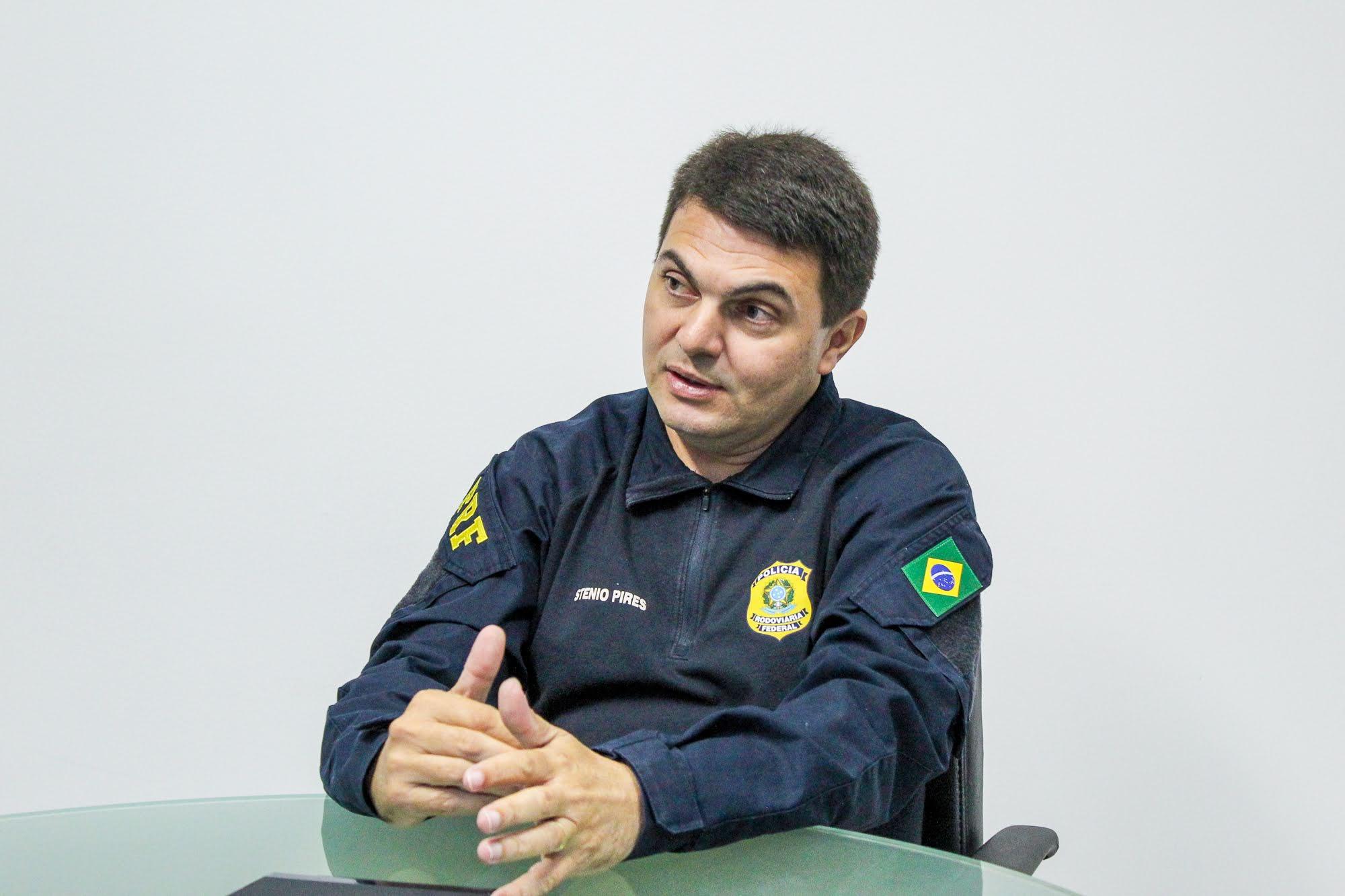Stênio Pires, Superintendente da PRF no Piauí (Foto: Reprodução/ UFPI)