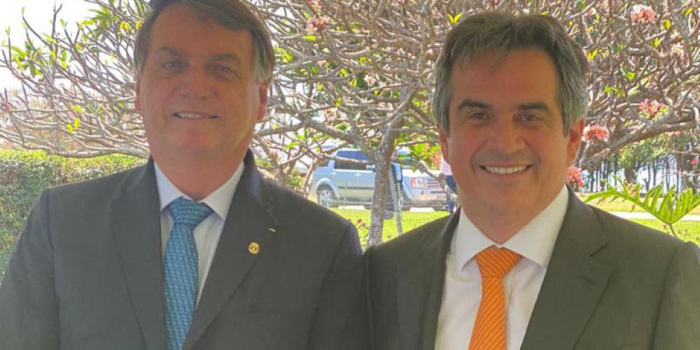 Presidente Jair Bolsonaro e senador Ciro Nogueira - Foto: AscomPresidente Jair Bolsonaro e senador Ciro Nogueira - Foto: Ascom