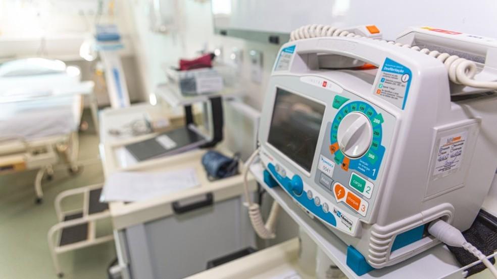 Kit entubação (Foto: SES/ Divulgação)