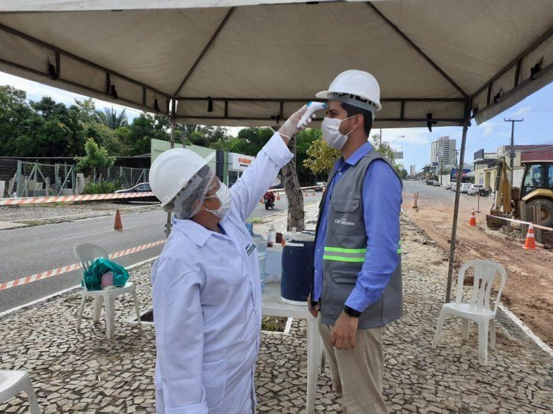 Águas de Teresina recebe certificação internacional por medidas preventivas ao coronavírus- Foto: Ascom