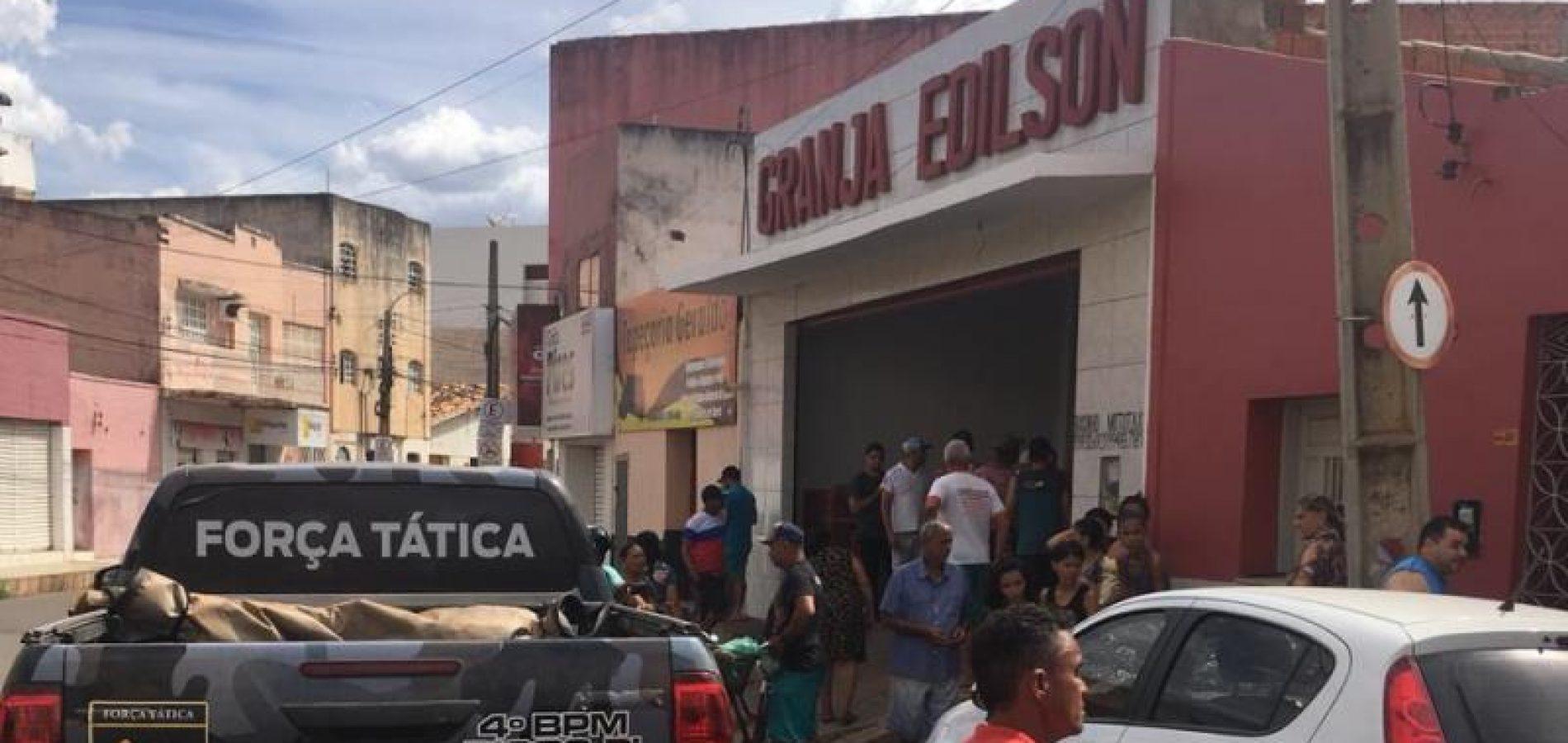 Empresário foi morto durante um assalto a sua granja, na cidade de Picos (Foto: Cidades na Net)