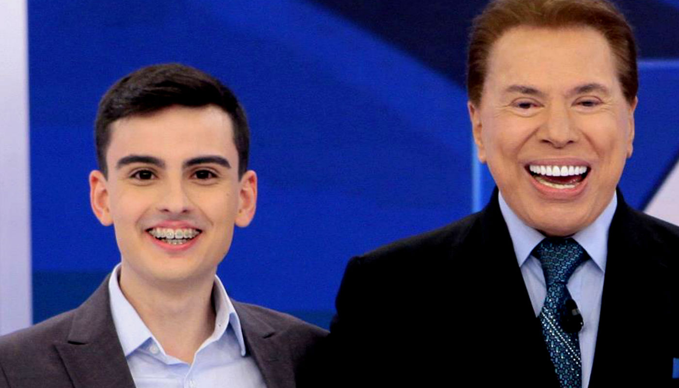 o dono do SBT, Sílvio Santos está ciente da situação do seu pupilo