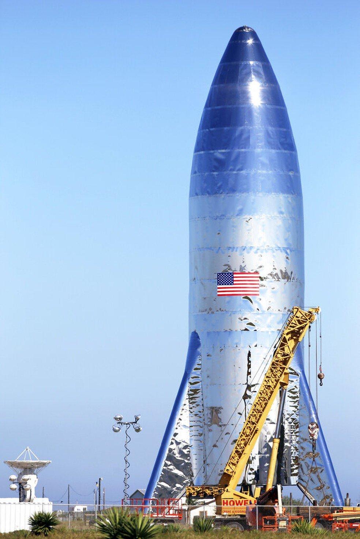 Starship da SpaceX (foto: Miguel Roberts)