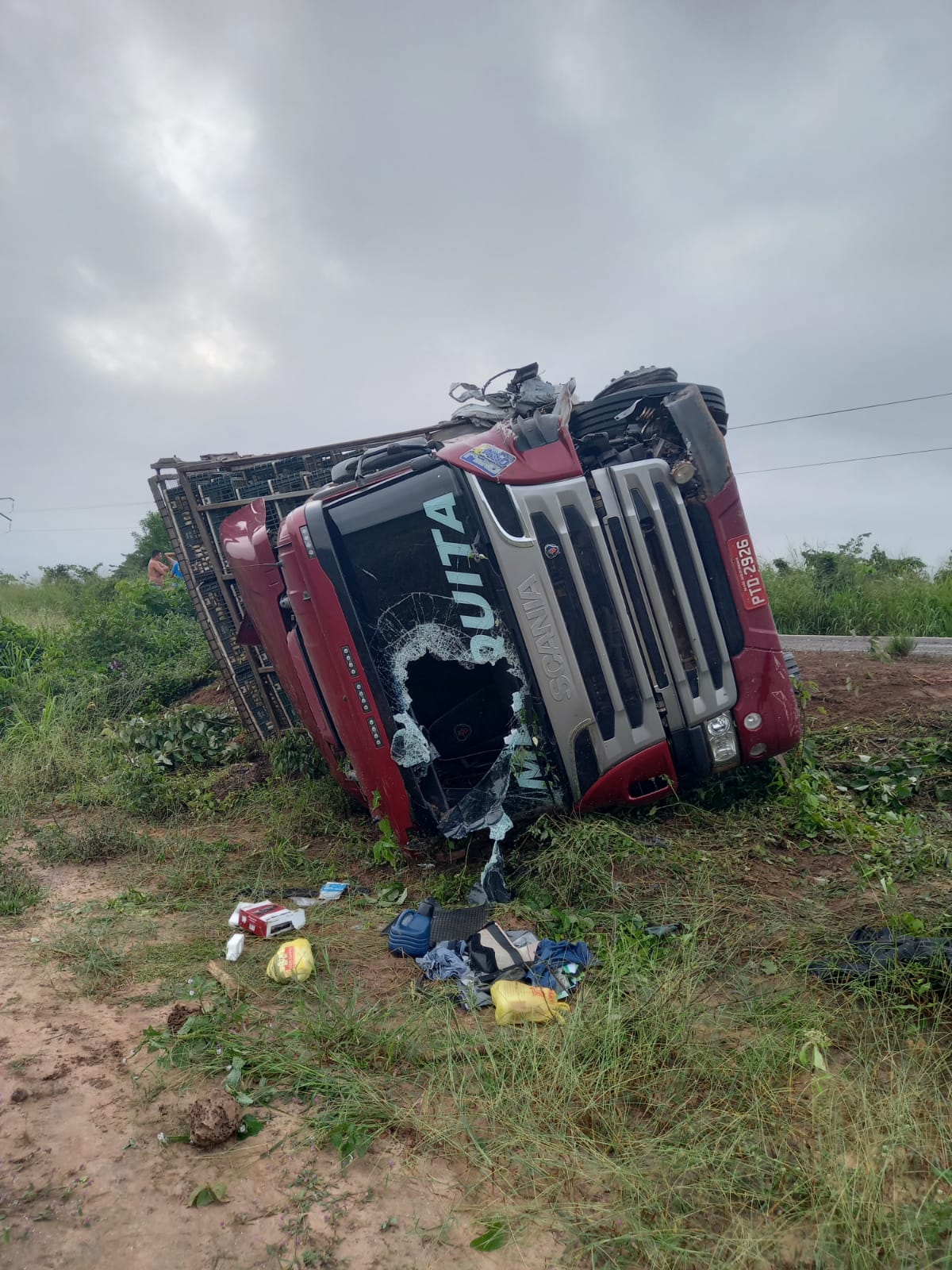 MA: Capitão da PM do Piauí fica ferido e esposa morre em acidente - Imagem 3