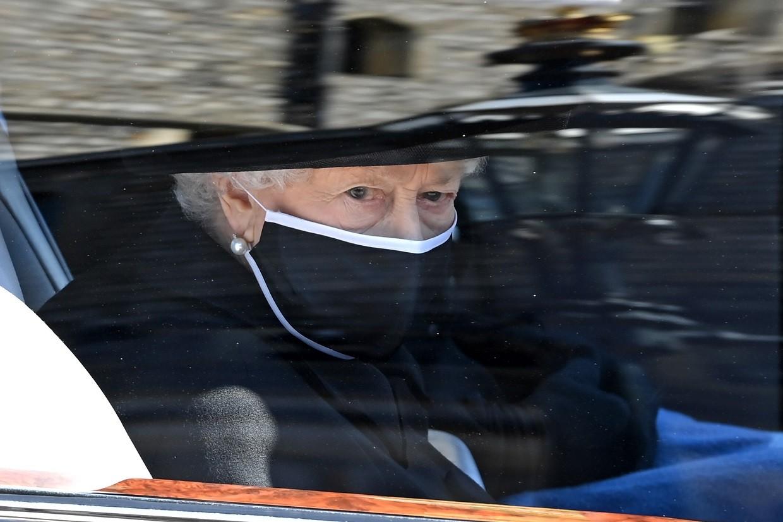 Rainha Elizabeth no funeral de Príncipe Phlip - Foto: WPA/Pool/Getty Images