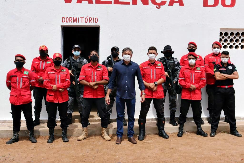 Sede da Brigada de Incêndio foi inaugurada em Valença. Video - Imagem 15