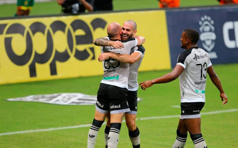Ceará vence Sampaio Corrêa por 3 a 0 Foto: Fabiane de Paula/SVM
