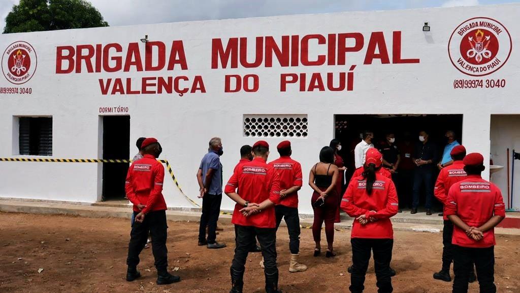 Sede da Brigada de Incêndio foi inaugurada em Valença. Video - Imagem 9