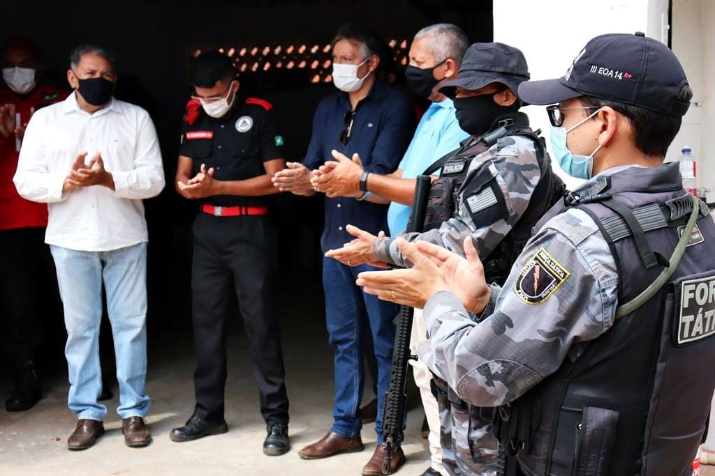 Sede da Brigada de Incêndio foi inaugurada em Valença. Video - Imagem 14