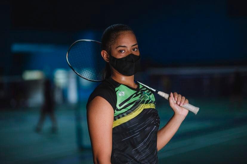 Atleta Jaqueline Lopes Lima (Foto: Jairo Moura)