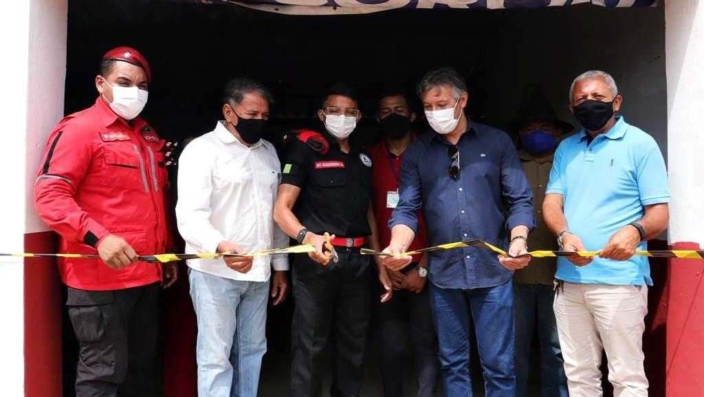 Sede da Brigada de Incêndio foi inaugurada em Valença. Video - Imagem 8