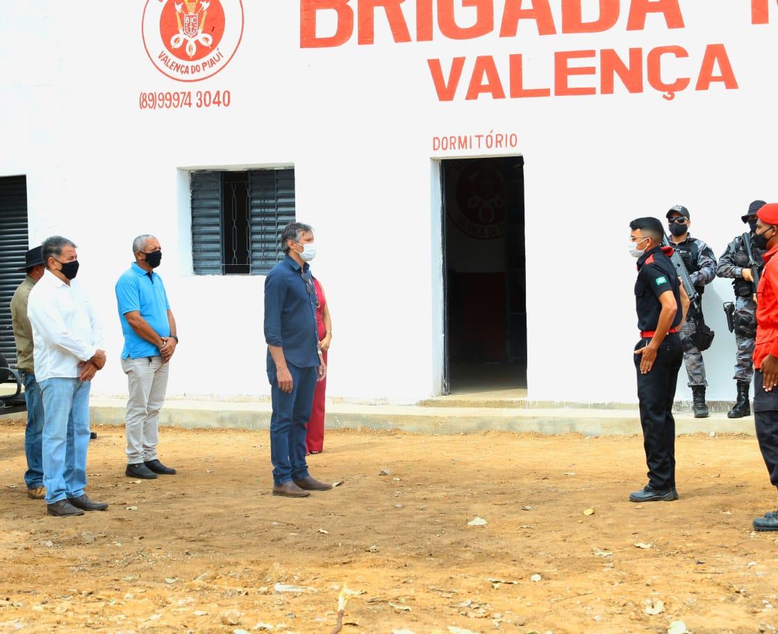 Sede da Brigada de Incêndio foi inaugurada em Valença. Video - Imagem 1