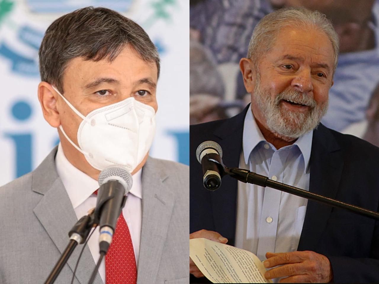 Wellington Dias e Lula (Foto: reprodução)