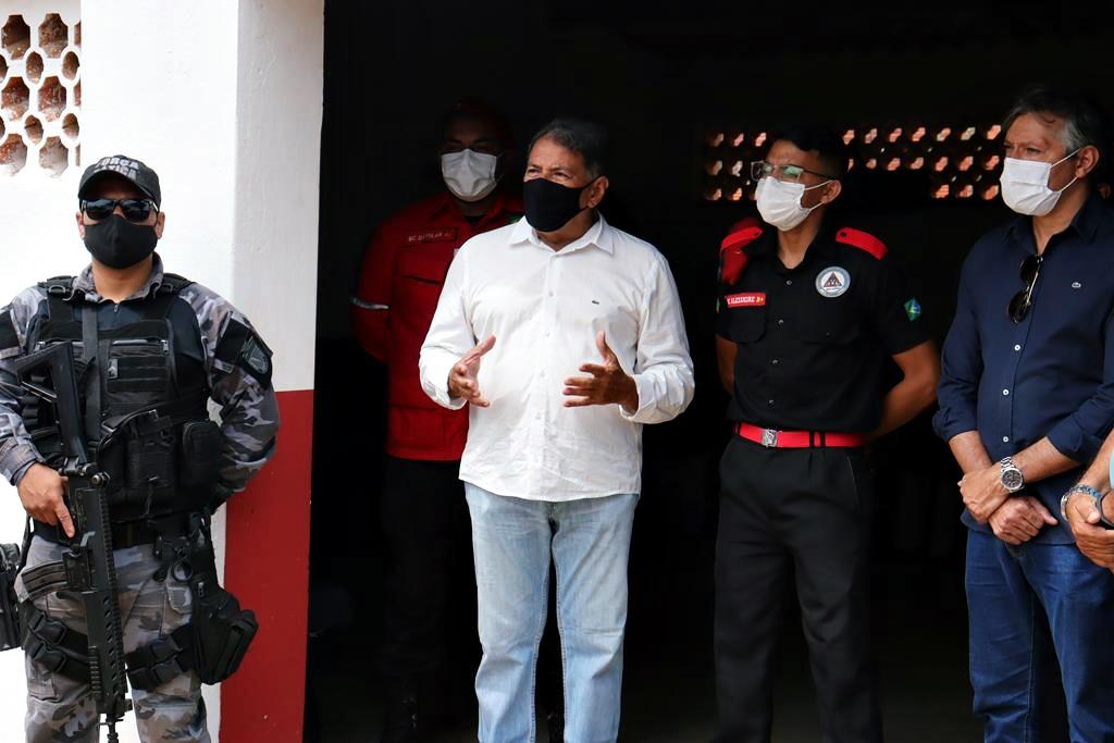Sede da Brigada de Incêndio foi inaugurada em Valença. Video - Imagem 13
