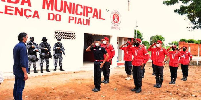 Sede da Brigada de Incêndio foi inaugurada em Valença. Video