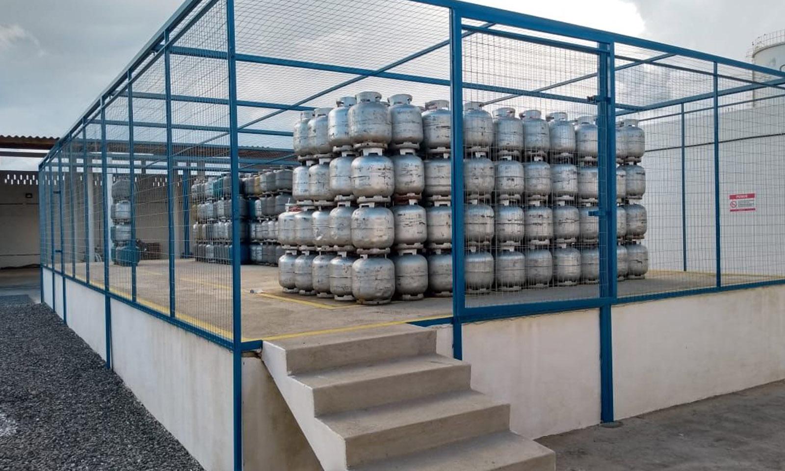 Distribuidora de gás - Foto: Reprodução
