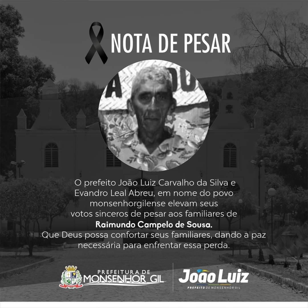 Monsenhor Gil se despede de seu Raimundo Sousa - Imagem 1