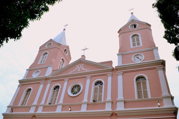 Catedral Nossa Senhora das Dores, no Centro de Teresina (Foto: Divulgação)