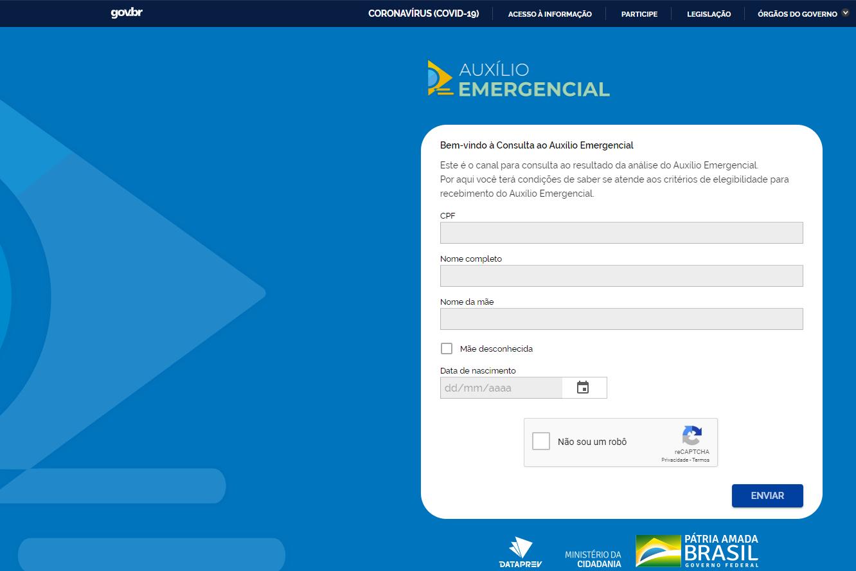 A consulta poderá ser feita pelo Portal de Consultas da Dataprev
