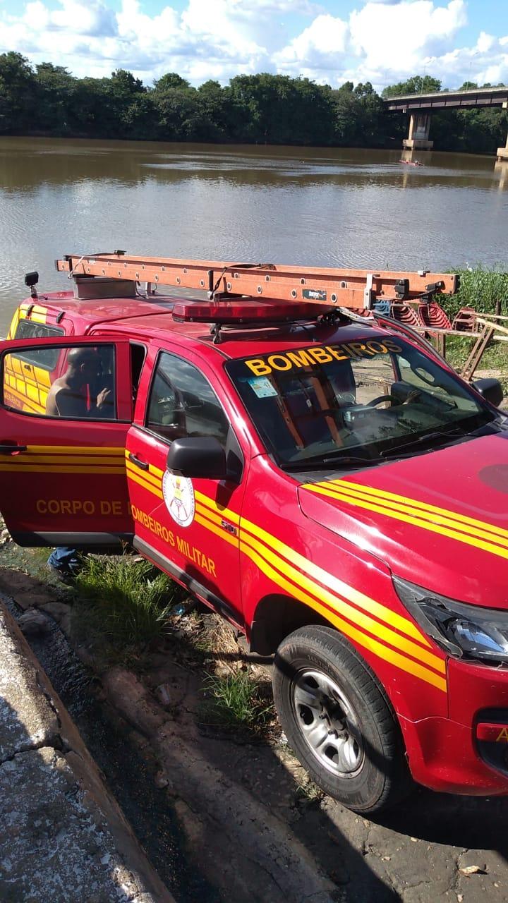 O corpo foi encontrado por equipes do corpo de bombeiros - Foto: Divulgação