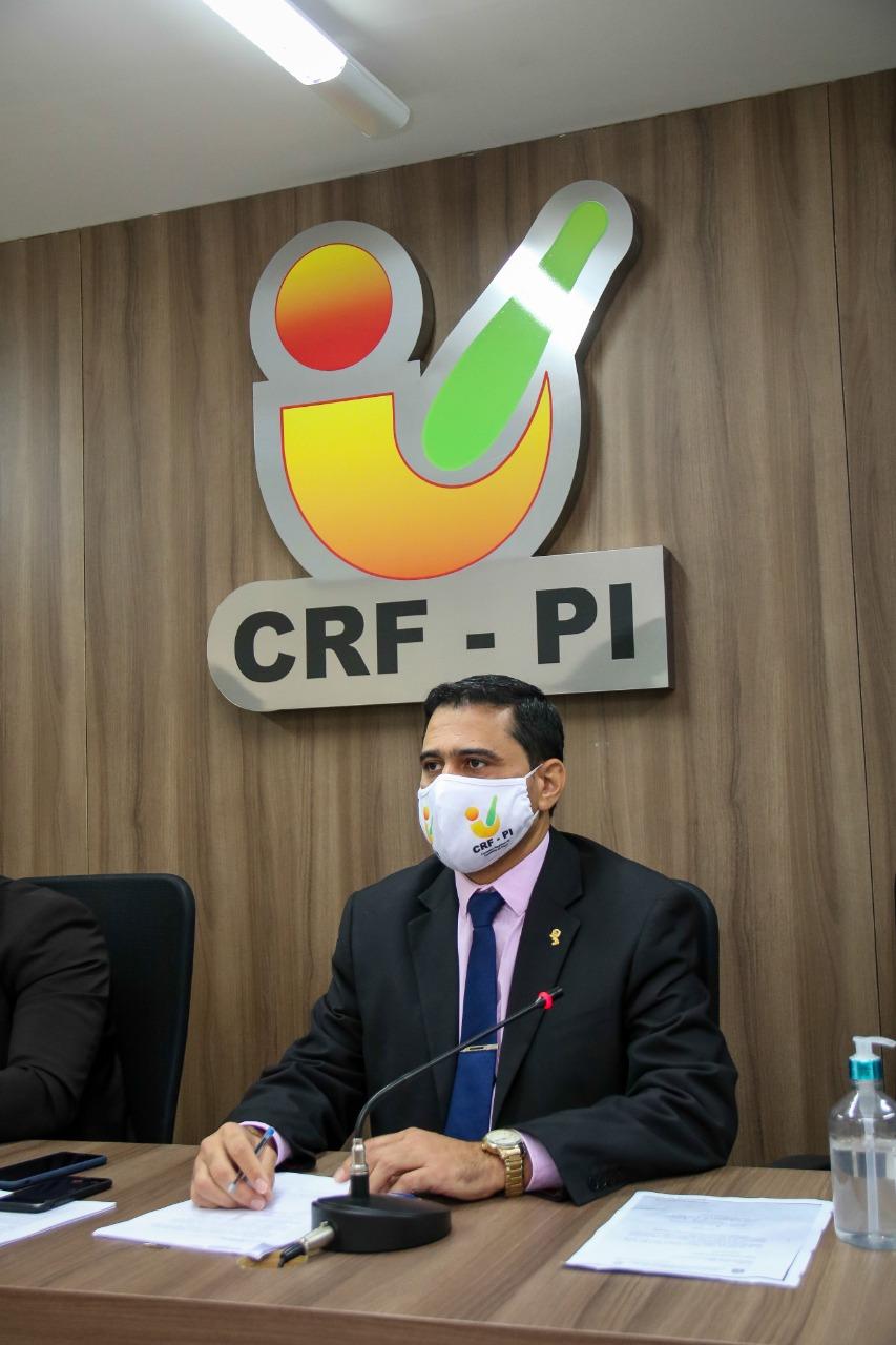 Luiz Júnior, presidente do CRF-PI