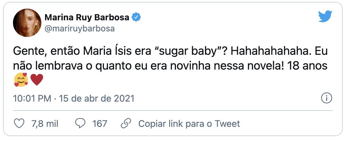 Marina Ruy Barbosa já foi Sugar Baby. Veja quem mais - Imagem 2