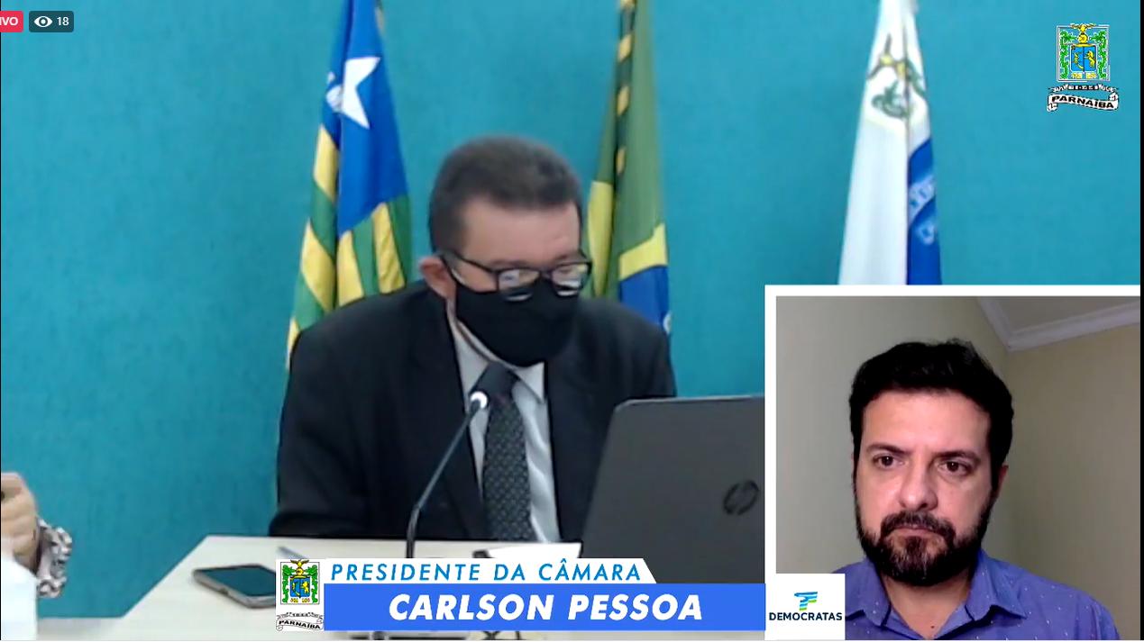 Vereador Carlson Pessoa pediu a audiência pública para falar da ZPE