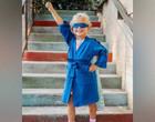 Roupão com capa e máscara consegue motivar crianças com câncer