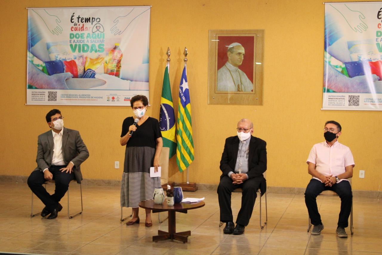 A campanha É tempo de cuidar foi lançada nesta quarta-feira (21) (Foto: Divulgação)
