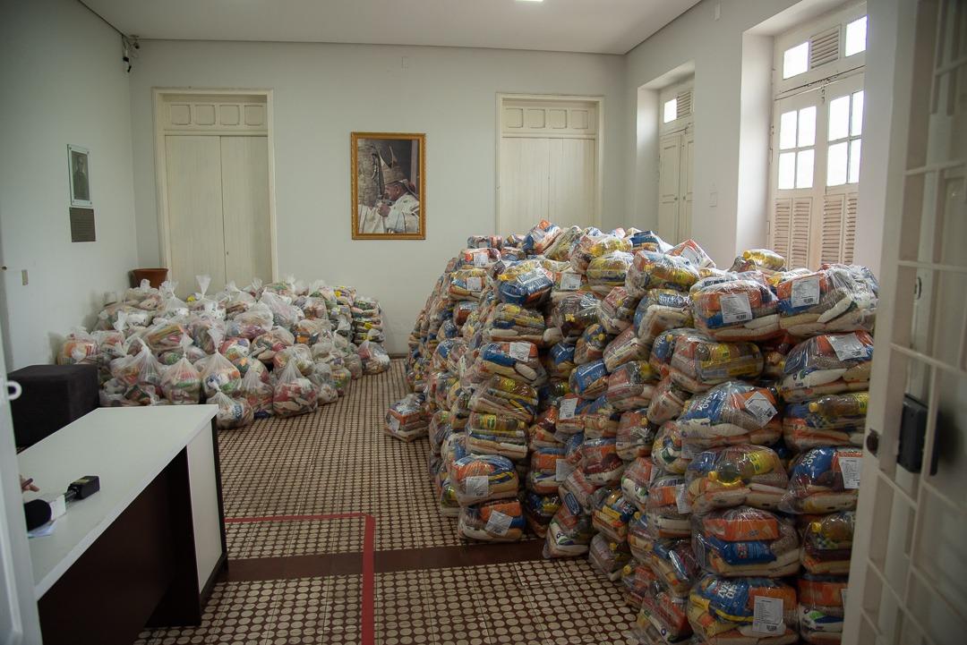 Campanha já arrecadou 22 toneladas de alimentos (Foto: Divulgação)