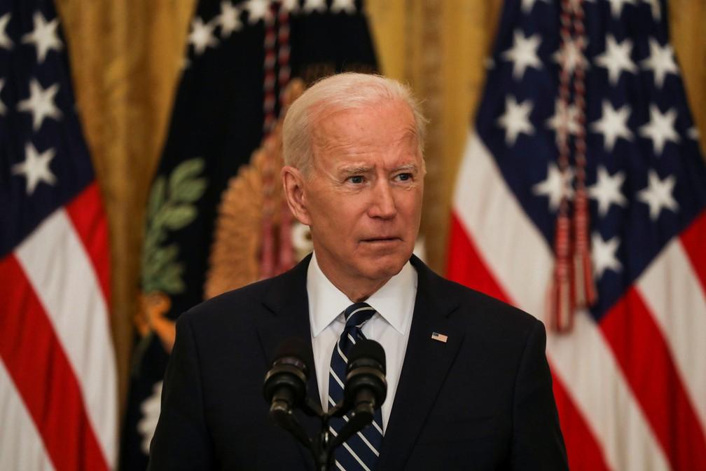Joe Biden abriu a Cúpula do Clima (Foto: Reuters)
