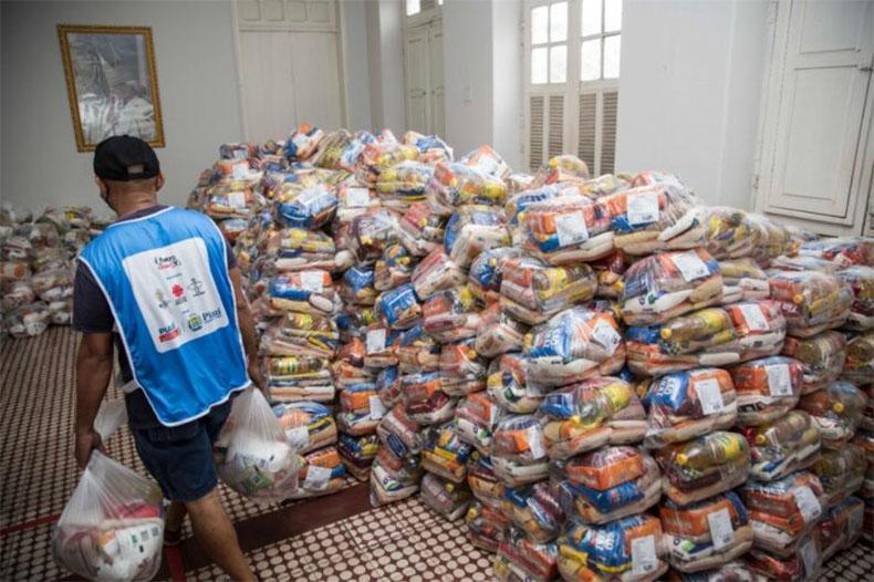 Campanha intensifica arrecadação de alimentos/Divulgação